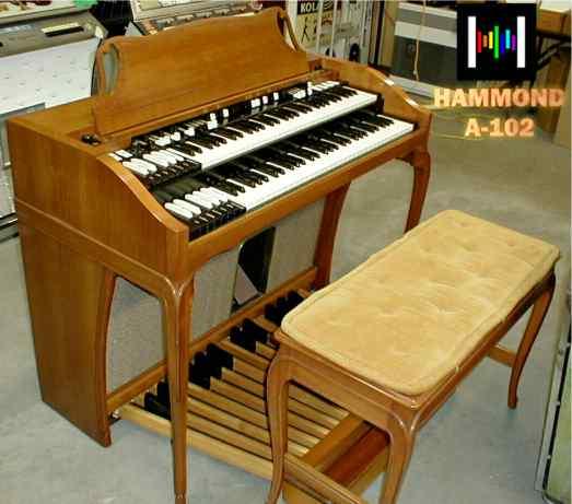 Hammond A-102 on